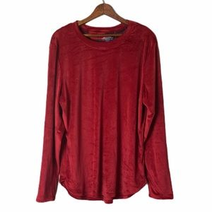 Cuddl Duds Climate Right Plush Long Sleeve Shirt